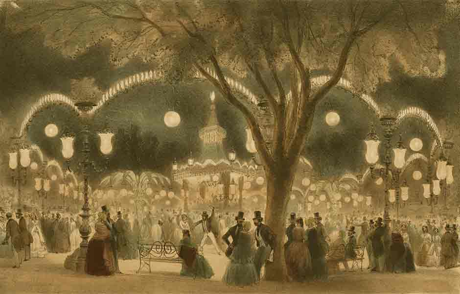 Le Bal Mabille, 1858
