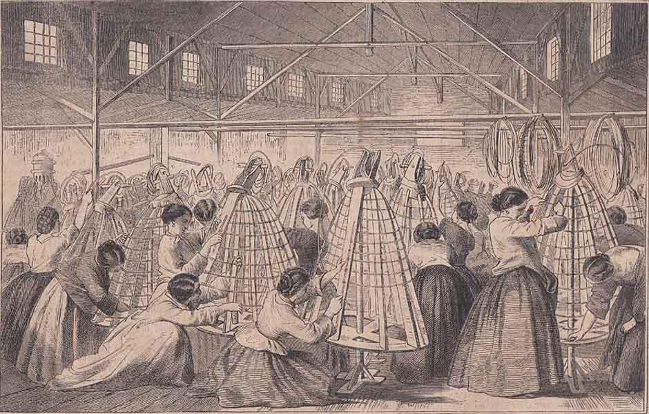 Fabrique de crinolines