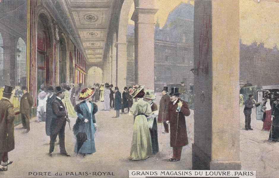 Grands Magasins du Louvre, 1910