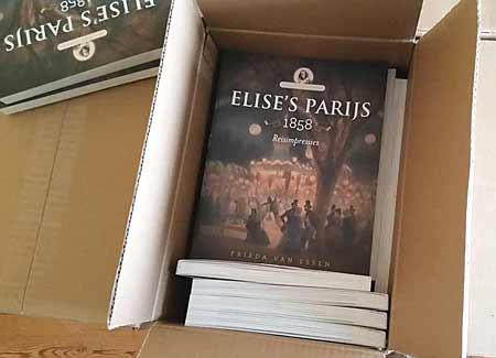 De reisnotities van Elise in druk