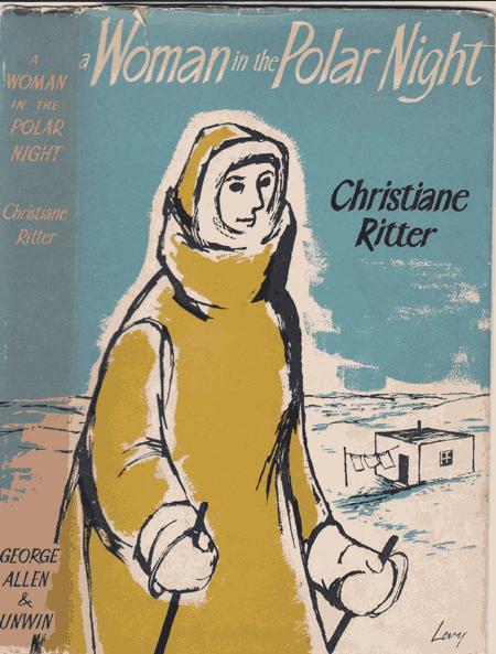 Woman in the Polar Night; omslag bij een Engelse vertaling uit 1954