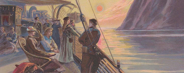 Bootreis naar de Noordkaap